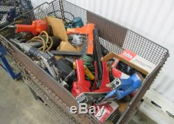 (1) Lot of Air Tools & Machinery Components Used AM15739