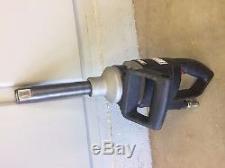 1 inch drive air impact wrench with sockets and socket case
