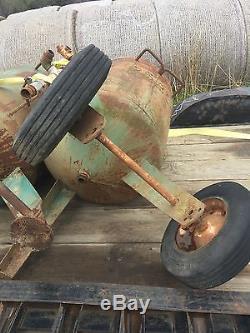 (2) clemco 600 lb. Sandblast pots