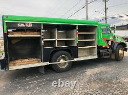 2000 International 4700 Aluminum Mickey Box Tool Truck Delivery Dt466