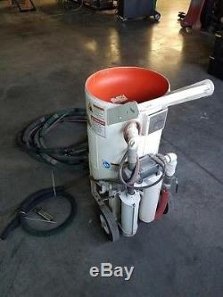 2013 Schmidt sand blasting pot. 3.5 CF, excellent used condition
