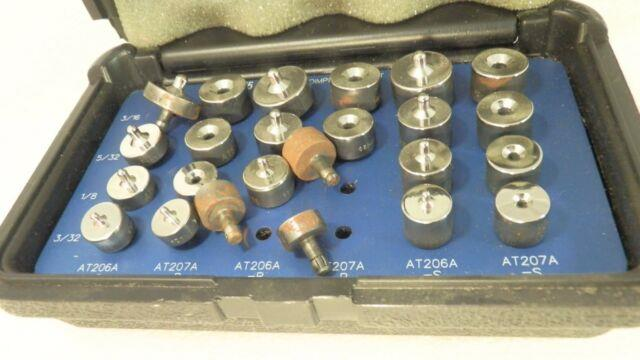 (24 Pieces) Ati At206a Lite Use Lite Scuffs And Lite Oxidation Dimple Die Kit