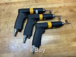 3- Atlas Copco LBB16 EPX010-U Pneumatic Pistol Grip Drill, 1,000 RPM 1/4 Chuck