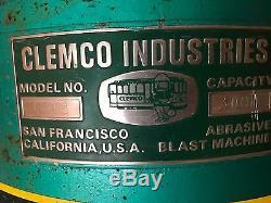 300 Lb Clemco Blast Pot & Accessories