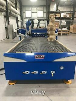5' x 10' Baileigh WR-105V-ATC CNC Router, 2017 Automatic Tool Changer, Air Coo