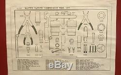 AC compressor master tool set auto air conditioner clutch tool
