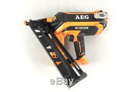 Aeg 18v 15ga Brushless Brad Nailer Tool Only