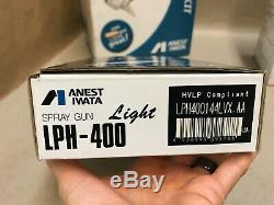 ANEST IWATA LPH-400 144 LVX 1.4 Extreme Orange Cap ++EXCELLENT++