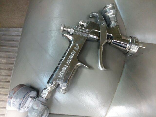 Anest Iwata Lph-400 Spray Gun Withlph-400 Cap 1.3 Tip Used