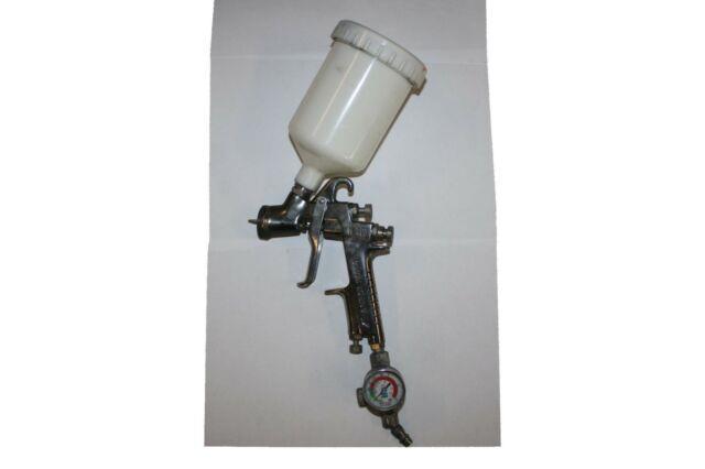 Anest Iwata Lackierpistole W-400 Mit Sata Druckluftmanometer / Iwata W400