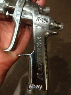 ANEST IWATA W-400 1.3 Spray Gun with pps 2 adapter only no cup No regulator