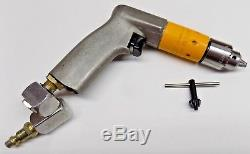 ATLAS COPCO 1/4 Hi Torque Mini Palm Drill with NEW Jacobs Chuck Aircraft Tool
