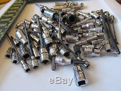 Aircraft tools HUGE lot of Snap On allen sockets