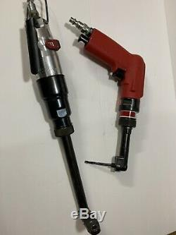 Aircraft tools Jiffy 90 Degree Drill Motor 1/4-28 Threaded Head & 5/16 Pancake
