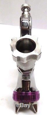 Anest Iwata LPH-400-144LV Gravity-Feed Spray Gun (purple tip)