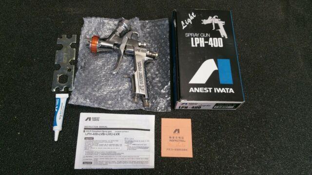 Anest Iwata Lph-400 Automotive Paint Spray Iob Used