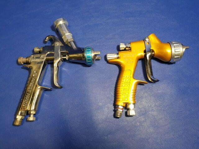 Anest Iwata W-400 + Devilbiss Gti Pro Lite Spray Gun