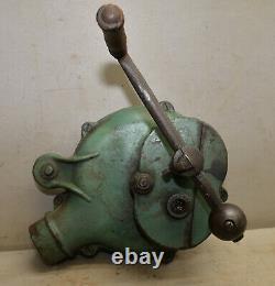 Antique Champion Blower & Forge Co hand crank air cast iron blacksmith tool