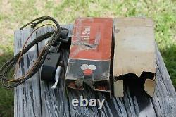Antique Original Steering Wheel Mounting Turning Signal Part nos