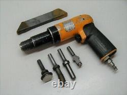 Atlas Copco 3x Recoilless Rivet Gun Riveter RRH 06P-TS w Bucking Bar & Sets
