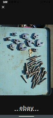 Aviation tools, aircraft, Boeing, Cleo, puematic, bucking bars. Drill bits