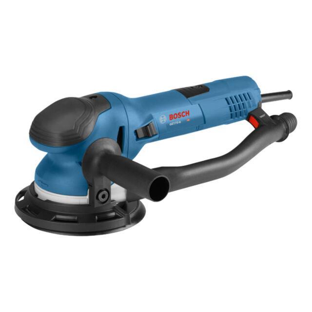Bosch Tools Corded 6 Inch Dual-mode Random Electric Orbit Sander, Blue (used)