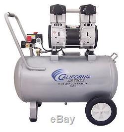 CALIFORNIA AIR TOOLS 15020C Ultra Quiet & Oil-Free Air Compressor USED