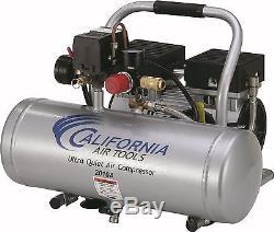 CALIFORNIA AIR TOOLS 2010A Ultra Quiet, Oil-Free Air Compressor USED