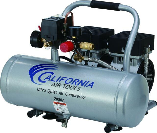 California Air Tools 2050a Ultra Quiet, Oil-free Air Compressor Used