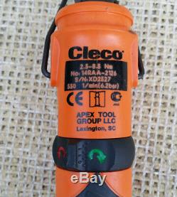 CLECO Pneumatic 1/4 crowfoot nutrunner, 14RAA-2126