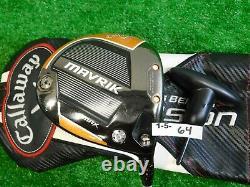Callaway 2020 Mavrik Max 10.5 Driver Air Speeder 40 Regular w Fusion HC & Tool