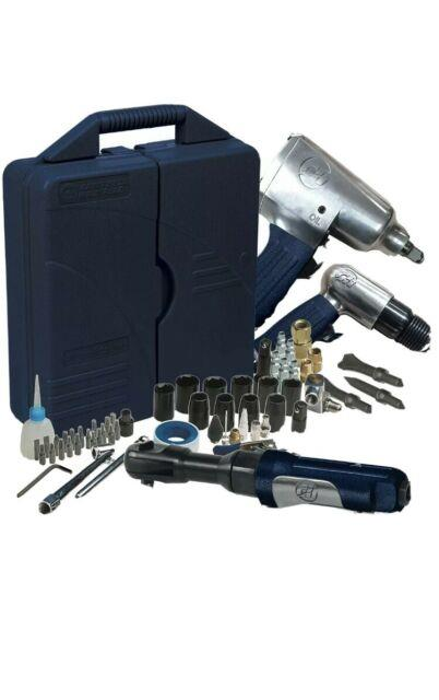 Campbell Hausfeld At921099 Air Tool Starter Kit 62 Piece Fast Shipping Open Box