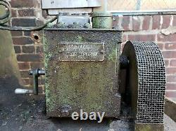 Chambersburg 2ch self contained 1pc air forging power hammer withxtra dies tooling