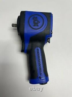 Cornwell Tools bluePOWER 3/8 Stubby Impact Wrench Open Box Never Used
