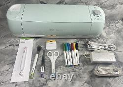 Cricut Explore Air 2 Smart Cutting Machine Mint Green With Blade, Tools, Markers