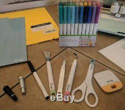 Cricut Explore Air 2 Smart Cutting Machine-Mint with Tools, Pens, Mats, Deep Blade