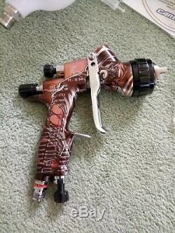 DEVILBISS GTI PRO LITE Limited Edition VIGILANTE Spray Gun 1.3 TE20