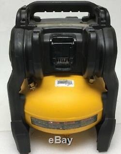 DEWALT DCC2560T1 FlexVolt 60V Max 2.5 Gallon Cordless Air Compressor