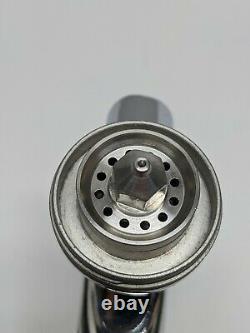 DeVILBISS TEKNA CHROME Spray gun. Aircap 7E7, fluid nozzle 1.4mm. USED. AS-IS