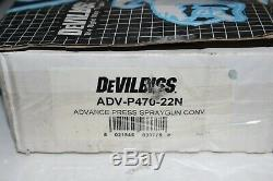 DeVilbiss Advance HD Spray Gun ADV-P470-22N