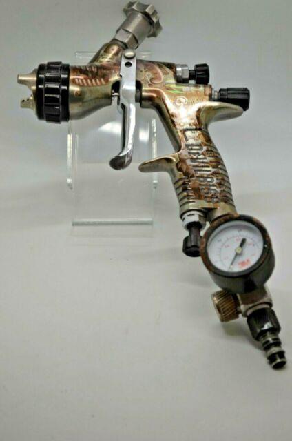 Devilbiss Gti Pro Lite Limited Edition Steampunk Pistol Spray Gun Te20 1.3mm