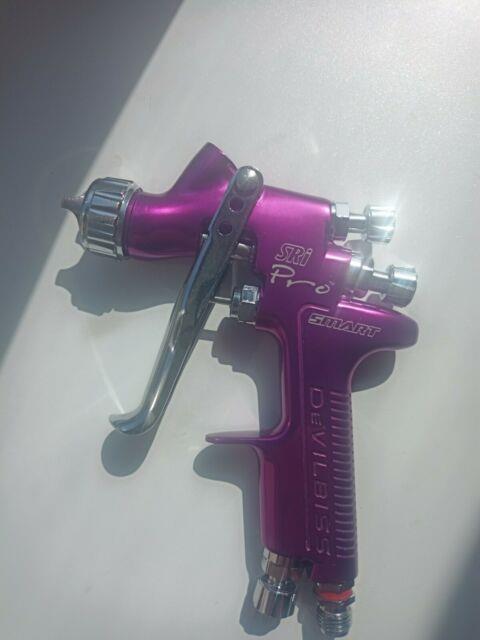 Devilbiss Sri Pro Spray Gun, Gravity Feed, 1.0mm Ts1