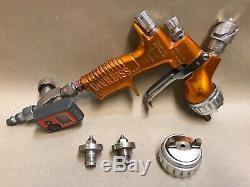 DeVilbiss TEKNA Clearcoat Spray Gun Auto Paint 1.2/1.3/1.4mm Tips