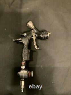 DeVilbiss Tekna ProLite 1.3mm Paint Spray Gun te10 CAP Black-USED