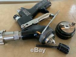 DeVilbiss Tekna ProLite Paint Spray Gun TE20 Air Cap and PRO-200-13 1.3 Tip
