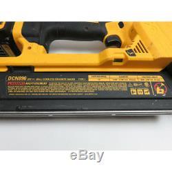 DeWalt DCN890 15 Degree Cordless Concrete Nailer