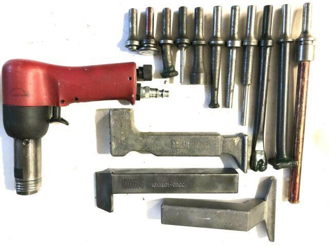 Desoutter Chicago Pneumatic 3x Rivet Gun Aircraft Tools Aviation Bucking Bars