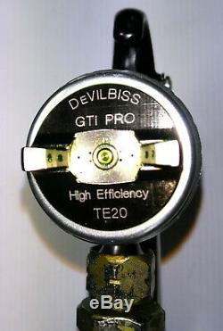 Devilbiss Gti Pro Lite TE20 2019 Used Paint Spray Gun Ilkeston