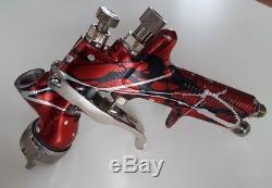 Devilbiss gti 1.3 limited edition spray gun GTI spraygun with devilbiss cup