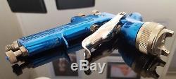 Devilbiss gti 1.3 spray gun complete with a brand new spraygun cup / pot